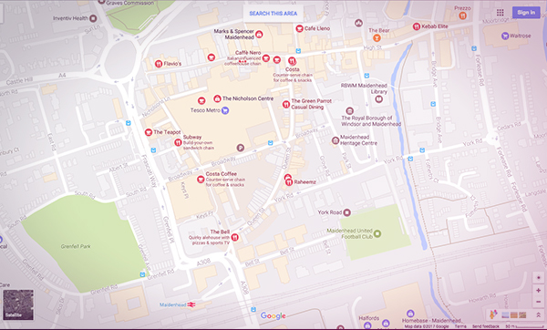 Google Maps: What if we're not all judged on the same basis?